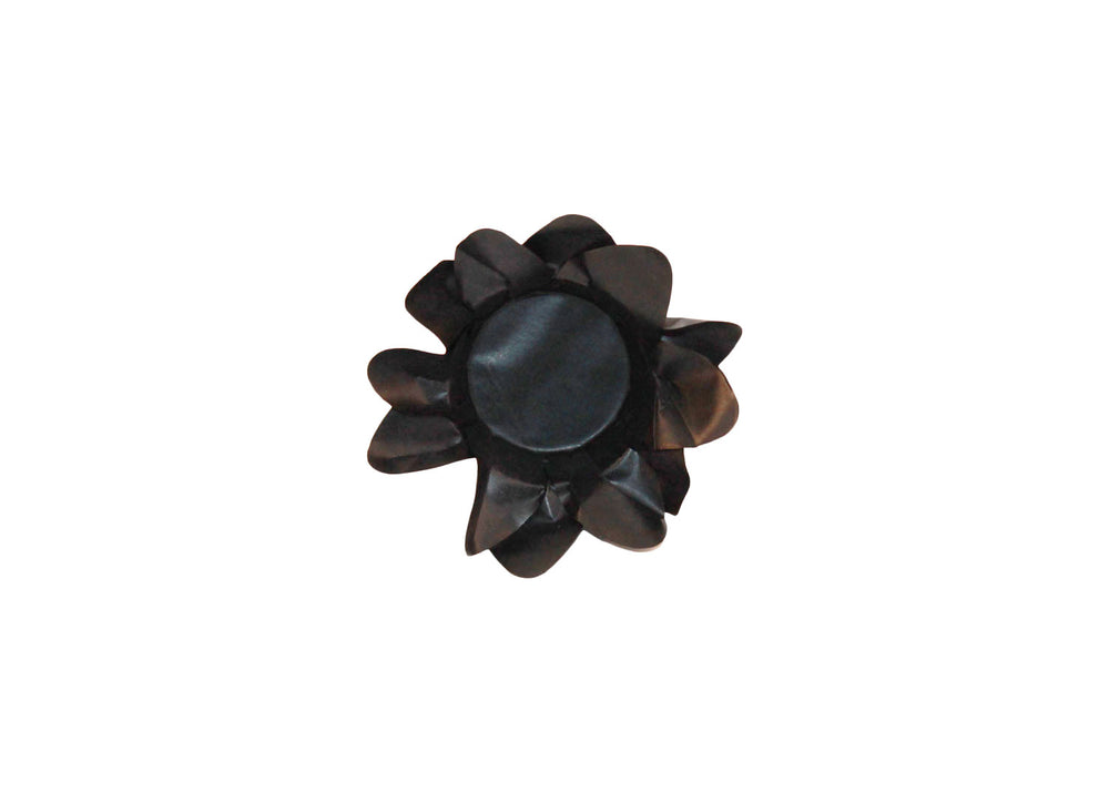 Truffle Wrapper - Black Lily - Forminha decorada para doces - Decora Doces - Lirio preto