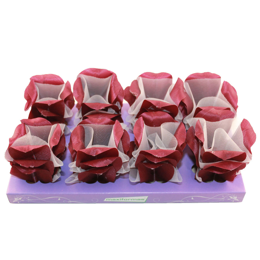 Truffle Wrapper - Wine color - Forminha decorada para doces - Maxiformas - Luxor 40 vinho