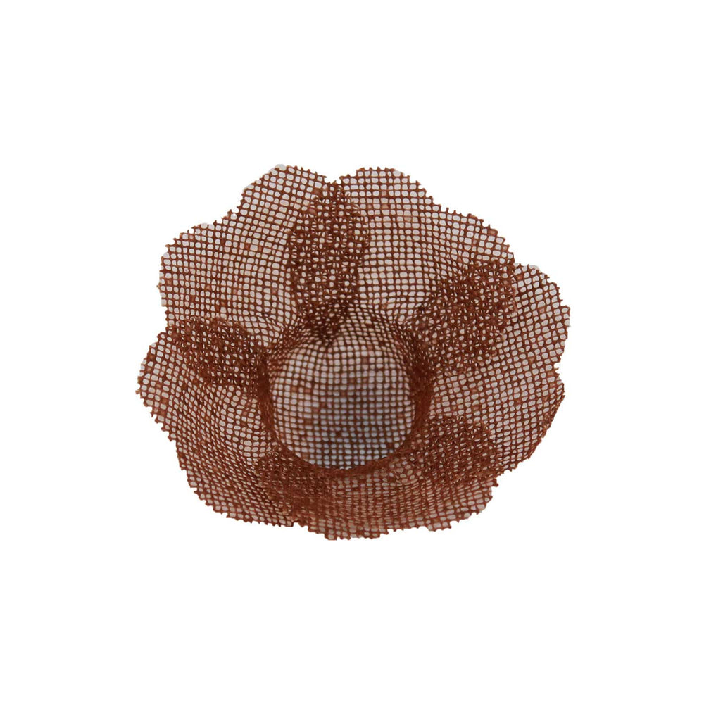Truffle Wrapper - Brown - Forminha decorada para doces - Maxiformas - Tropical Coracao marrom