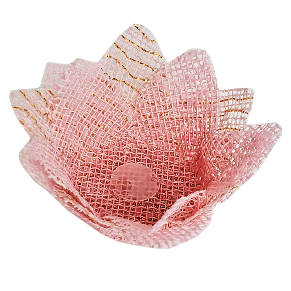 Truffle wrapper - Agata - Light pink - 24 pcs | Maxiformas