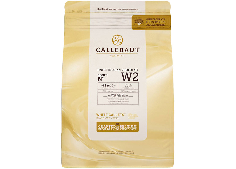 White Chocolate Couverture - 1kg | Callebaut