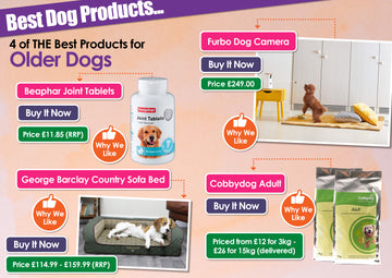 Cobbydog Adult named in best products for Older Dogs by K9 Magazine