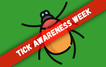 Be aware of Ticks!