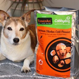 cold pressed chicken dog food
