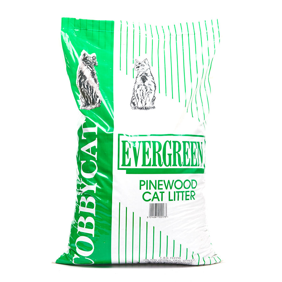 Cobbycat Evergreen Pinewood Cat Litter