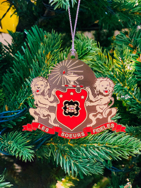 Coat of Arms Ornament 2018