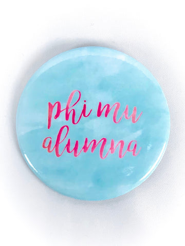 Color Alumna Button