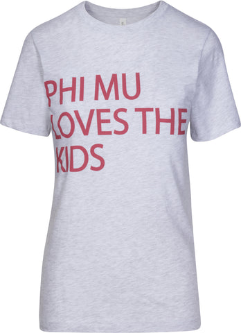 Phi Mu Loves The Kids