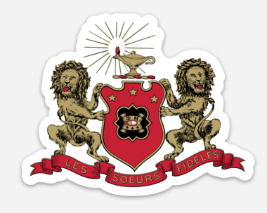 Coat Of Arms Sicker