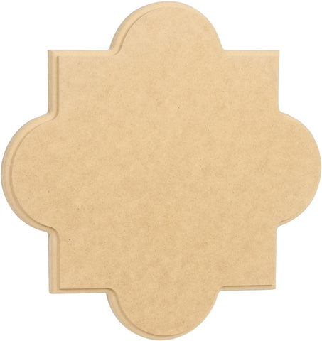 Big Quatrefoil Plaque