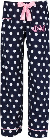 Navy Dot Pajama Pants