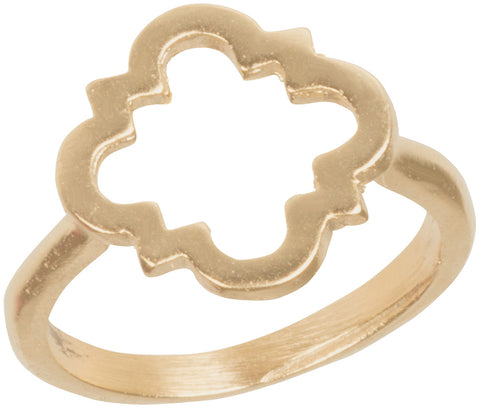 Open Quatrefoil Ring GP