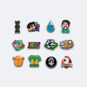 Jacksepticeye Charity Pin Collection