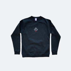 Embroidered PMA Heart Crewneck Sweatshirt