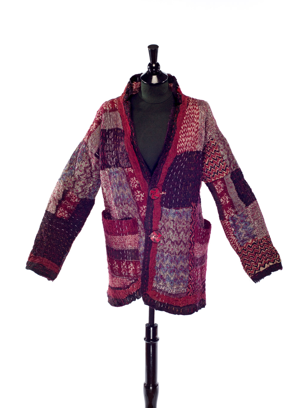 Indian Dreams Kanatha Stitched One-of-a-kind jacket