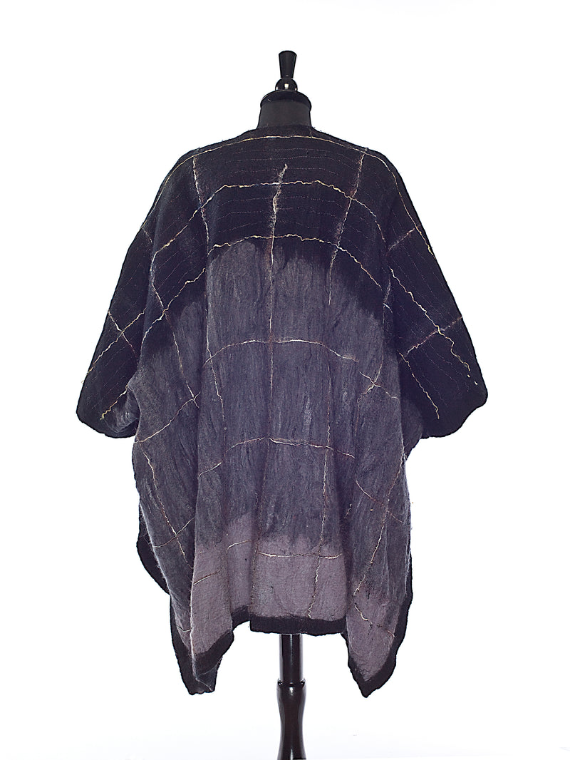 Fade to Black Poncho