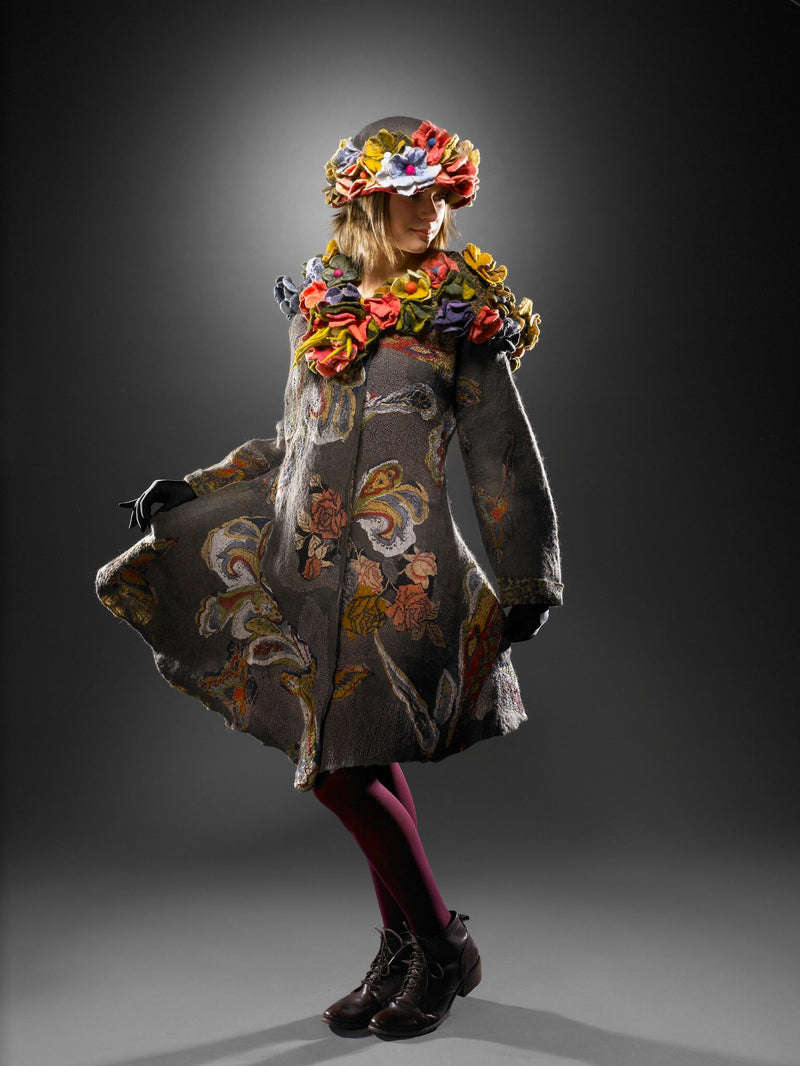 Homage to Frida Kahlo Coat