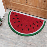 Watermelon design coir door mat