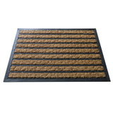 Stripes coir doormat