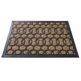 Chain design coir doormat