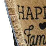 ATMAH Happy family coir doormat