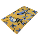 Summer birds coir door mat