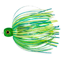 Load image into Gallery viewer, G-Fly Lures Sucker Lure 3D Eyes Green White GFSL01GW