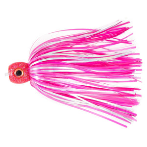 G-Fly Lures Sucker Lure 3D Eyes Pink Silver GFSL01PS