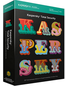 Kaspersky Total Security 2018 Standard(DE)