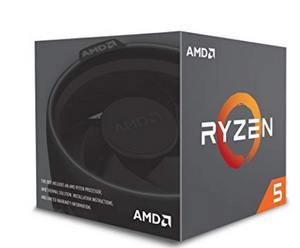 AMD YD2600BBAFBOX Processor RYZEN5 2600 Socket AM4 3.9Ghz Max Boost, 3.4Ghz Base + 19MB(DE)