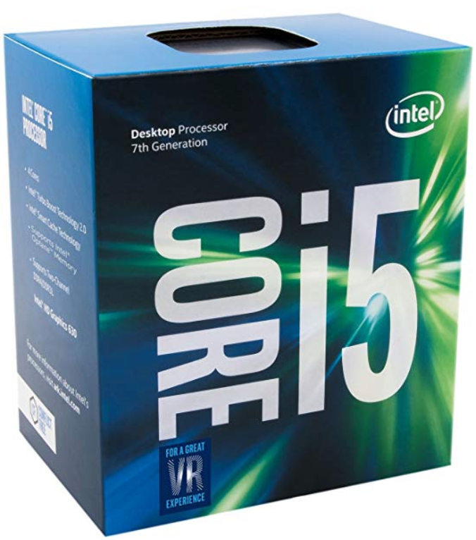 Intel Core i5-7500 Prozessor (7. Generation, bis zu 3.80 GHz mit Intel Turbo-Boost-Technik 2.0, 6 MB Intel Smart-Cache) (DE)