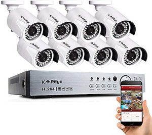 16 Channel Security Camera System