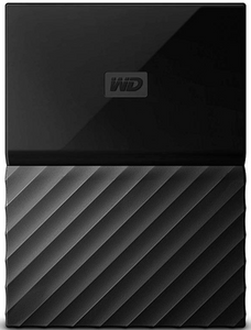 Western Digital 4TB Black My Passport Portable External Hard Drive - USB 3.0 - WDBYFT0040BBK-WESN(EN)