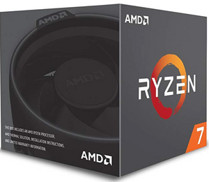 AMD Ryzen 7 2700 Processor with Wraith Spire LED Cooler - YD2700BBAFBOX(EN)