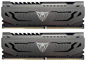 Patriot Viper Steel DDR4 16GB (2 x 8GB) 3000MHz Kit w/Gunmetal Grey heatshield(EN)
