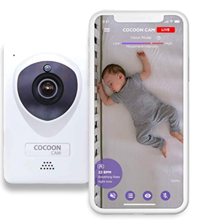 Cocoon Cam Plus - Baby Monitor with Breathing Monitoring - Updated 2019 Version(EN)