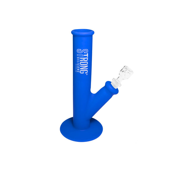 Aqua Scout - Unbreakable & compact silicone bong in Aqua marine blue
