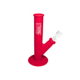 Red Scout - Unbreakable & compact silicone bong in crimson red