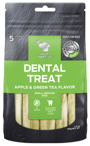 BILLY & MARGOT DENTAL APPLE SMALL/MED 5pc