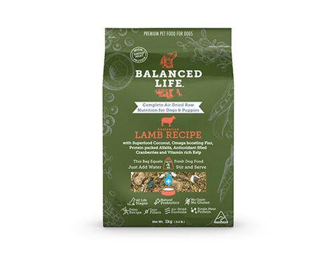 Balanced Life Lamb - Humble Pet Products