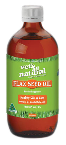 VETS ALL NATURAL FLAX SEED OIL