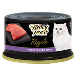 FANCY FEAST ROYALE VIRGIN FLAKED TUNA 24X85G - Humble Pet Products