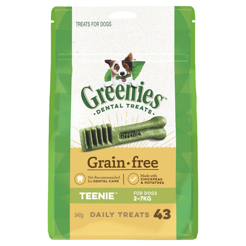 Greenies Grain Free Treat Pak Teenie 340g - Humble Pet Products
