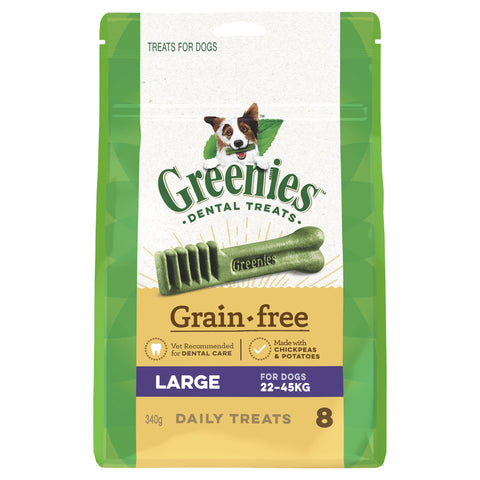 Greenies Grain Free Treat Pak Large 340g - Humble Pet Products