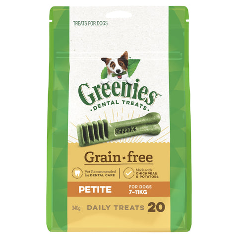 Greenies Grain Free Treat Pak Petite 340g - Humble Pet Products