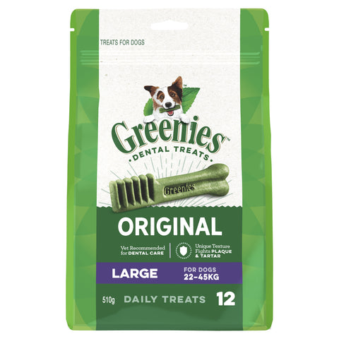 GREENIES MEGA TREAT PAK LARGE 510G - Humble Pet Products