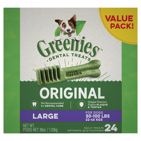 GREENIES Dog Original Value Pack Large 1kg