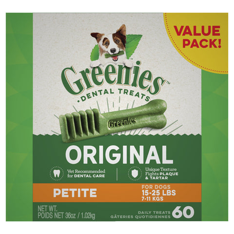 GREENIES Dog Original Value Pack Petite 1kg