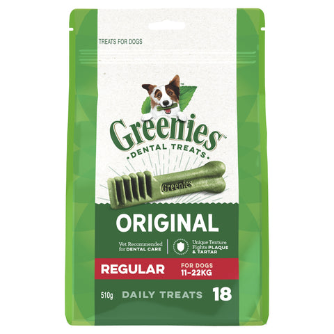 GREENIES MEGA TREAT PAK REGULAR 510G - Humble Pet Products
