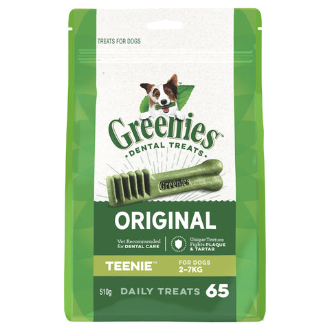 GREENIES MEGA TREAT PAK TEENIE 510G - Humble Pet Products